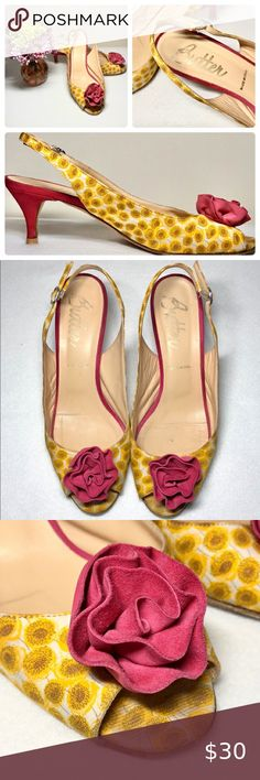 NEW FUCHSIA GIRL FLAT SHOES LINK COLLECTION SIZE 10-3