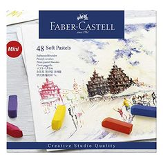 Find the Faber-Castell® Creative Studio® Soft Pastels at Michaels. These pastel sticks are bright, intense, and will adhere to a variety of paper types and surfaces. Faber Castell, Soft Colors, Vibrant Colors, Colours, Soft Pastels, Creative Studio, Pastel Crayons, Amazon Art, Art Lessons