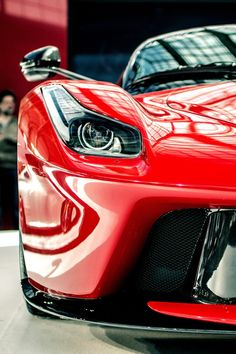 Beautiful Ferrari LaFerrari Closeup. Win the 'ultimate supercar' experience by clicking on this cool image
