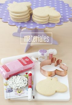 Azucarillos Color: Peppa Pig Cookies