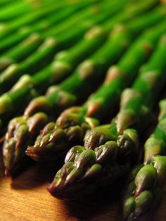 Asparagus is delicious, and divine. As a medicinal food it detoxifies the system, has anti-aging functions, is considered an aphrodisiac, has shown to protect against cancer, reduces pain and inflammation, can prevent osteoporosis and osteoarthritis, and reduces the risk of heart disease, amazing indeed.