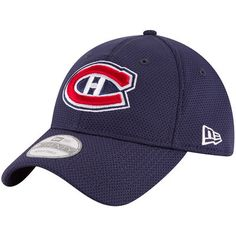 Montreal Canadiens New Era Perf Shore 9TWENTY Adjustable Hat - Navy
