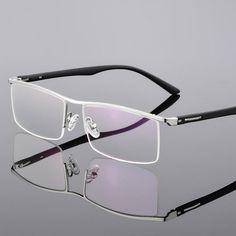 Funky Glasses, Mens Glasses, Glasses Frames, Men Eyeglasses, Designer Eyeglasses, Titanium Glasses, Eyeglass Frames For Men, Temple, Optical Frames