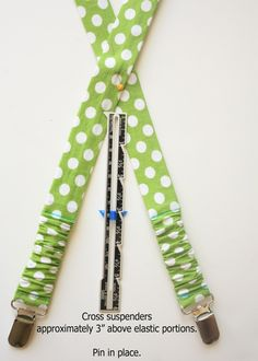 Jazz up your little guy's wardrobe with trendy fabric suspenders. These suspenders are perfect for boys and girls. Sewing Kids Clothes, Sewing For Kids, Baby Sewing, Free Sewing, Sew Baby, Kids Clothing, Baby Boy, Sewing Hacks, Sewing Tutorials