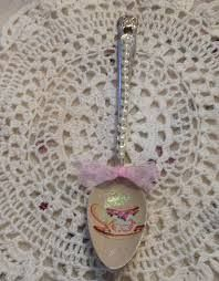 Image result for shabby chic altered spoons