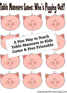 18 Fun Activities That Teach Good Manners | How Does She