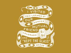 Our Mutual Friend Glass