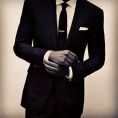 I like the more fitted styles of suits or tuxes for the groom