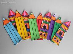 Leather bookmarks by I Pasticci di Dani