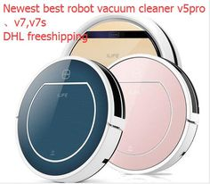 ILife V5S V7S PRO smart Dry and wet Mop Robot Vacuum Cleaner for Home , Auto charge,HEPA Filter,Sensor,household cleaning