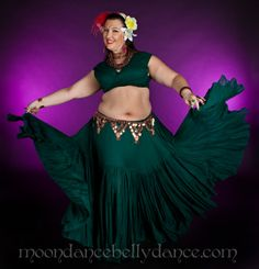 Bragging time!  This is my friend modeling this fabulous skirt!  Moondance Bellydance Costumes & Accessories