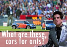 See who we think deserves a product placement Olympic gold for designing cars for ants (Zoolander voice) in our blog