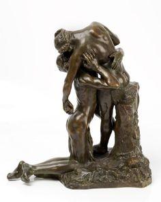 L'Abandon de Camille Claudel, 1905, bronze (Eugène Blot, fondeur), 43 x 36 x 19 cm, Musée Sainte-Croix à Poitiers.