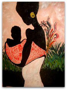 African art by Hind hinda.toufga@gmail.com