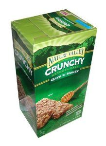 Nature Valley Crunchy Granola Bars Oats 'N Honey - 96 Bars Gourmet Recipes, Dog Food Recipes, Snack Recipes, Snacks, Best Breakfast Cereal, How To Make Breakfast, Crunchy Granola, Granola Bars, Oats And Honey