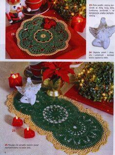 Hobby lavori femminili - ricamo - uncinetto - maglia: centrino uncinetto