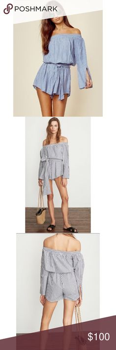 7ec8d58368ff Faithfully The Brand Romper ✖️Brand new with tags ✖️Sold out ✖️sold at  Nordstroms   Revolve Faithfull the Brand Pants Jumpsuits   Rompers