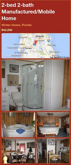 2-bed 2-bath Manufactured/Mobile Home in Winter Haven, Florida ►$42,500.00 #PropertyForSale #RealEstate #Florida http://florida-magic.com/properties/81636-manufactured-mobile-home-for-sale-in-winter-haven-florida-with-2-bedroom-2-bathroom