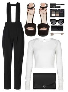 """""""9/2/2016"""" by hayleypiper ❤ liked on Polyvore featuring Karen Walker, NARS Cosmetics, Orelia, The Cambridge Satchel Company, women's clothing, women, female, woman, misses and juniors"""