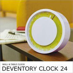 アナログ時計のアイテムを人気ランキング順でご紹介! おしゃれな ... 【期間限定☆送料無料】ディベントリークロック24 Deven.