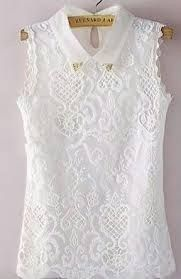 Blouses for women – Lady Dress Designs Beautiful Blouses, Blouse Dress, Mode Outfits, Girly Outfits, Look Chic, Mode Style, Lace Tops, Corsage, Refashion