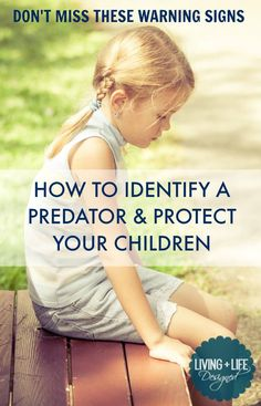 This is the best, most comprehensive list of Red Flags all Parents NEED to be aware of. The list of ways to detract child molesters is equally important. This article is important and so helpful for parents and families. Please take the time to read it and know the Red Flags to Help Protect Your Kids from a Predator.