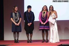 La testimonial Monica Dellepiane e la stilista CARLA QUAGLIA con la figlia BEATRICE ZAPPA
