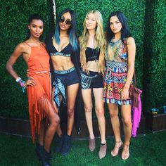 Jourdan Dunn's Instagram Pic With Her 'Coachella Babes'