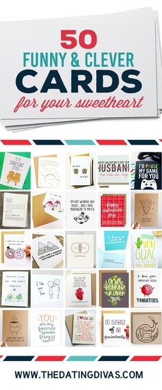 50 Cards for Your Sweetheart