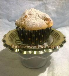 Muffin vegan alle mele e vaniglia con senz'uovo Baule volante | Paradiso dei Dolci Vegan
