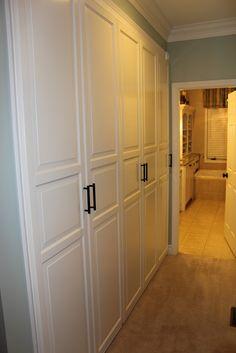 Ikeas Pax with Birkeland doors