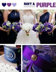 Image result for purple navy and grey wedding