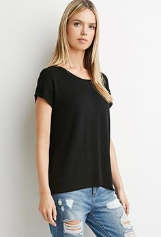7be4ac263b Drapey Textured Knit Blouse | LOVE21 - 2000079174 Best Sellers, Forever 21,  Texture,
