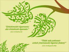 85 Gambar Kaligrafi Terbaik Seni Kanvas Kaligrafi Islam Dan