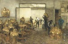 Willem Bastiaan Tholen - Melkinrichting de Sierkan 1889