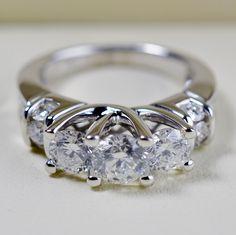 70% OFF: 2.36ctw Diamond Wedding/Anniversary Ring 14K Gold, Retail $7,869 http://www.propertyroom.com/listing.aspx?l=9714040