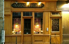 Mariage Freres makes wonderful teas - I love going to their tea room when I'm in Paris.