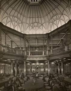 "RMS mauretania interiors | ERA DE OURO DOS NAVIOS: RMS Lusitania & RMS Mauretania - ""Os Monarcas ..."