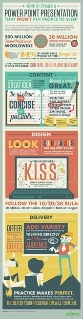 Educational infographic & Data How to Create a Powerpoint Presentation that Wo. Image Description How to Create a Powerpoint Presentation that Won't Presentation Skills, Presentation Design, Power Point Presentation Tips, Presentation Folder, Web Design, Graphic Design, Design Layouts, Plan Design, Brochure Design