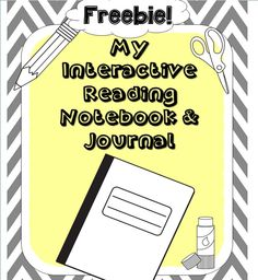 FREEBIE Interactive Reading Notebook and Journal! Check it out!