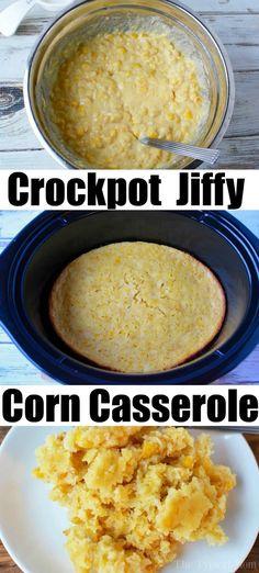 Crockpot Jiffy Corn Casserole Recipe!