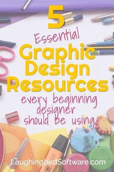 Easy Graphic Design Resources for Beginning Designers Designing graphics is easy with the right graphic design resources. For beginners and experienced designers. Graphisches Design, Graphic Design Tools, Graphic Design Tutorials, Blog Design, Graphic Design Inspiration, Design Posters, Cover Design, Layout Design, Creative Design