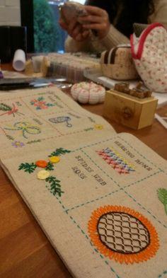 Baguni embroidery