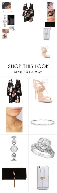 """""""Untitled #214"""" by jay2001 ❤ liked on Polyvore featuring Pour La Victoire, Hand Candy, Hourglass Cosmetics, Suzanne Kalan, Kate Spade and Yves Saint Laurent"""