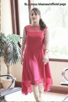 Best 11 Churidar is considered as a traditional outfit for women and is the most preferrable for women to have a classic appearance on wearing a chiridar and women looks for various kinds of churidar designs. Churidar Designs, Kurti Neck Designs, Kurta Designs Women, Dress Neck Designs, Kurti Designs Party Wear, Blouse Designs, Sleeve Designs, Stylish Dresses, Simple Dresses