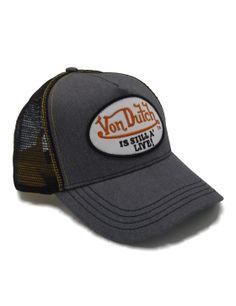 Von Dutch Still Alive trucker cap - grey white Von Dutch 95177b7b3ffa