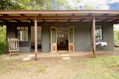 The Tin Shed - Byron hinterland - Cabins for Rent in Nashua, New South Wales, Australia Tin House, Tiny House Cabin, Shed Plans, House Plans, Shed Design, House Design, Rustic Shed, Farm Shed, Tin Shed