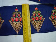 Decorative Trims Indian Sari Border Trim By The Yard Wholesale