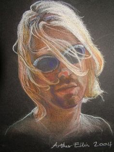 Kurt Cobain     Arthur Ellis #blind #artist check out his website www.forartssake.com