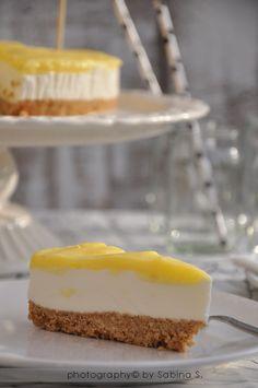 Cheesecake al lemon curd